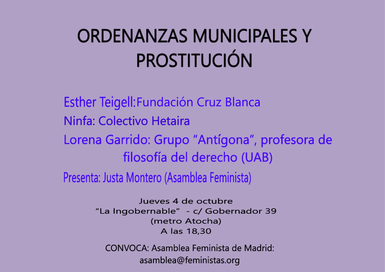 prostitutas en atocha prostitutas inmigrantes